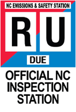 Official North Carolina State Inspection and Emissions Station
